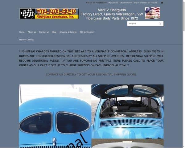 VW Fiberglass Parts
