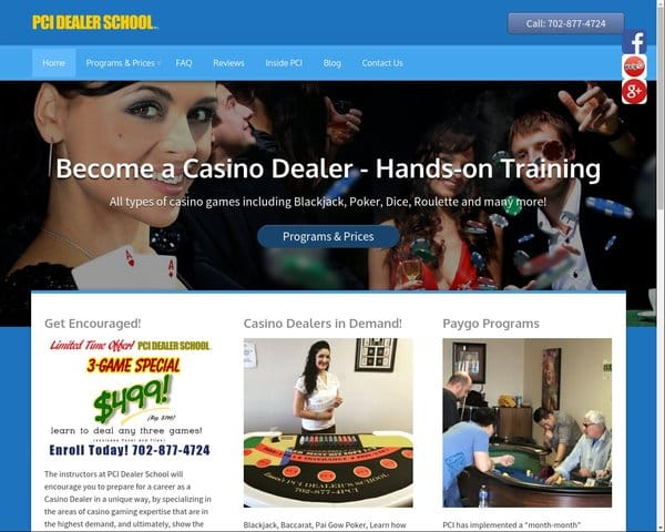 Casio Gaming School Las Vegas, NV